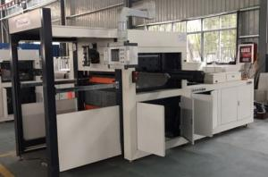 Quality Automatic Roll Die Cutting Machine FD1150 * 640 For Hot Coffee Paper Cups for sale