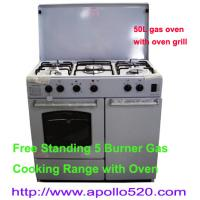 China Free Standing Gas Cooking Range with Gas Oven on sale