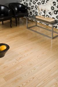China residential solid ash flooring on sale