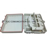 FTTH Optical Fiber Distribution Box / Outdoor Cable Enclosure Box ISO RoHS Listed