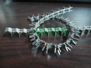 China アコーディオン式かみそりワイヤー クリップ、かみそりの有刺鉄線クリップ、刑務所の網ワイヤー クリップ、塀の純クリップ on sale