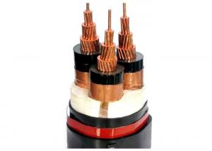 China 36KV 3 Core Annealed Copper Conductor Armoured Electrical Cable KEMA Certified on sale