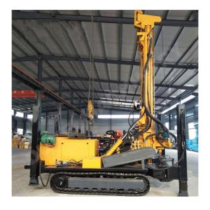 China 800 METERS POWERFULL HARD ROCK DTH WATER WELL DRILLING RIG on sale