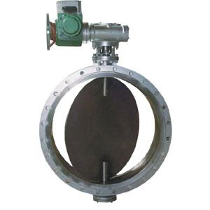 China Round and square louver butterfly valve, air butterfly valve, dust valve on sale