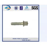 Square Head Steel Railway Sleeper Screws Spike For Zambia Railway