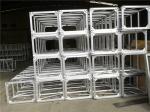 Palmo cuadrado de aluminio resistente 600x760 milímetro de los tornillos de cabeza de braguero de la cabina el 12m