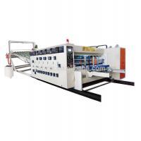 Feeder Corrugated Carton Box High Speed Flexo Printing Slotting Die Cutting Machine