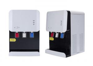China Compressor Cooling Drinking Water Cooler Machine Three Taps Bottled Type on sale