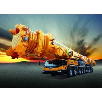 China Large Mobile Truck Loading Crane 100t For Construction Industry Spacious Cab on sale