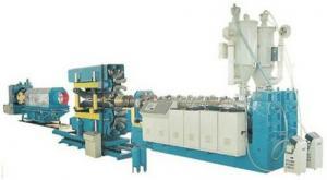 China Le Double-mur du PE/PVC a ridé la ligne en plastique d'extrusion de tuyau, de grande précision on sale