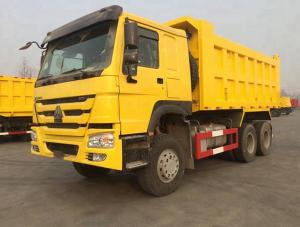 China HOWO 6*4 10 Crawler Dump Truck 41000kg Tires Tipper Truck For African Market on sale