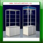 mostra de vidro de alumínio da exposição, armário de exposição