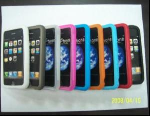 China Silicon case for iPhone IPA401  on sale