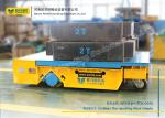 Heavy Duty Industrial Transfer Car , Large Platform Battery Motorized Carriage on Wheels