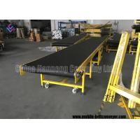 Bulk Material Handling Telescopic Belt Conveyor Customized Size Simple Operation