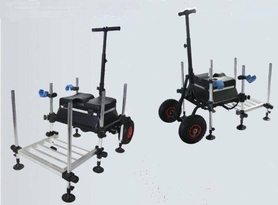 Powder Coated alu  Fishing Seat Boxes with Foldable