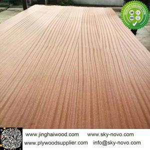 China Sapele veneered plywood on sale