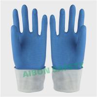 China Blue household latex glove on sale
