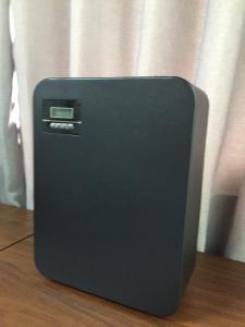 China DC12V Medium Area Black HVAC Scent Diffuser 250*110*320mm Floor Stand BW2000 on sale