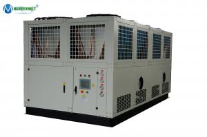 China Energy Saving 100 Tons Industrial Air Cooled Screw Water Chiller on sale