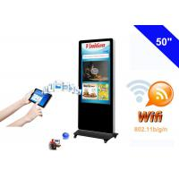 Free Standing WiFi Digital Signage kiosk LCD Advertising Media Monitor