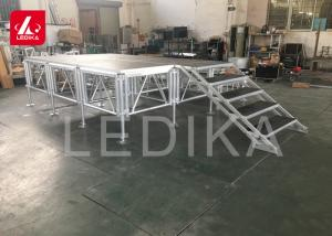 China Retractable Assembly Small Aluminum Stage Platform 4x4 For Event Save Volume supplier