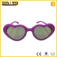 China tv circular polarizer review heart shape 3d glasses free for cinema or tv on sale