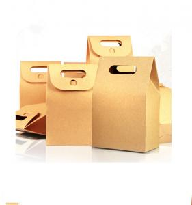 China Recycled Kraft Paper Gift Boxes Corrugated Cardboard Shape Unique Design on sale