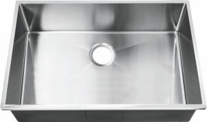 China Commercial Top Mount Stainless Steel Kitchen Sink With No Faucet / Topmount  Kitchen Sink on sale