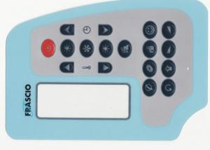 China 250V DC Multi Keys Waterproof Membrane Switch for Computer Keyboard on sale