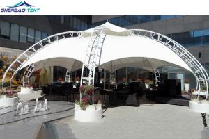 China Large Architecture Tensile Membrane Structures Tent  Customized Tension Fabric Buildings on sale