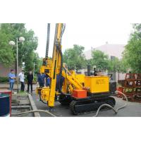 300m DTH  Hydraulic Rotary Drilling Rig Equipment / Water Well Drilling Machine