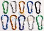 Safety Lanyard Accessories Aluminum Locking Carabiner Easy Open Eco - Friendly
