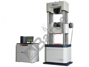 China 600KN Microcomputer Control Electro-Hydraulic Servo Universal Testing Machines, Worm and gear on sale