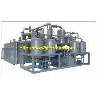 Black Engine Oil Distillation System, Motor Oil Recycling machine,base oil production