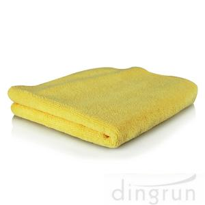 China Yellow Dark Blue Custom Microfiber Towels For Car Washing Dryfast on sale