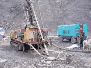 China Crawler Hydraulic RC Drilling Rigs for 500 m Drilling Depth mining Exploration on sale