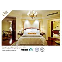 China Contemporary Mahogany Panel 5 Star Hotel Bedroom Furniture High Scratch Resistant on sale