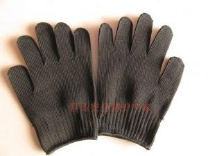 China Steel Wire Cut-resistance Glove on sale