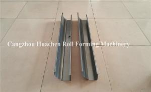 China Portable Gutter Roll Forming Machine , 3 Phase Metal Roofing Roll Forming Machine on sale