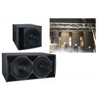 China Club Dj Subwoofer Speakers Stereo Audio Systems Stage Audio Sound Equipment on sale