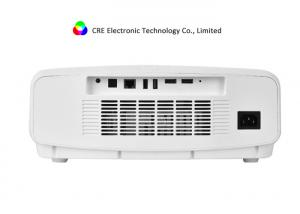 China CRE X8000 4K 3LCD LED Video Projector , Active Shutter 3D Movie Beamer on sale
