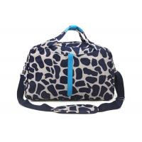 Exclusive Custom PU handle Sports Duffle Bags with PBS skidproof foot pad