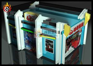 China système du cinéma 4D avec la machine d'écoute, de contact et de sentir on sale