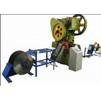 China Steel Razor Barbed Wire Machine / Automatic Barbed Wire Making Machine Light Duty on sale