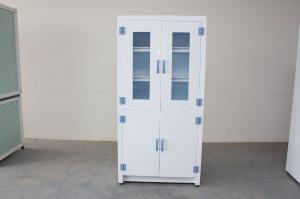 China Professional Utensil Medical Laboratory Furniture 2 Door Polypropylene Medicine Cabinet on sale