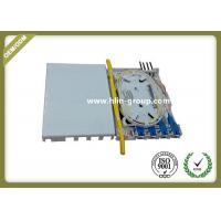 Indoor FTTH Fiber Optic Terminal Box 4 Cores ABS Material Small Size Wall Mount