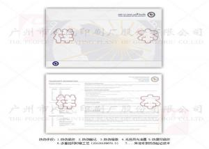 Quality New Security Watermark Paper Custom Certificate Printing Waterproof Eco - for sale