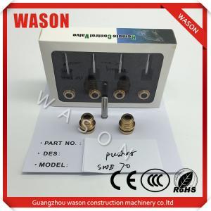 China SWE70 Excavator Pilot Pusher Caterpillar Performance Parts Cat Spare Parts on sale
