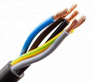 China Soft Copper Mineral Insulated Cable Low Smoke Zero Halogen Pe Jacket Cable on sale
